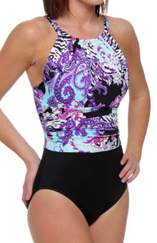 Donatella Jennifer Halter One Piece Swimsuit