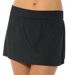 MagicSuit Solid Jersey Pull On Tennis Skirt Swim Bottom 475671