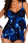 MagicSuit Hippie Chic Katie Double Tier Tankini Swim Top 476679