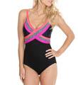 Maidenform Beach Little Star Control One Piece Swimsuit 3975508