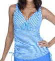 Maidenform Beach Lift & Support Underwire Tankini Swim Top 491T315