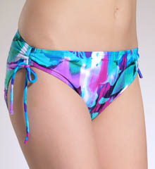 Tropical Forest  Hi Waist Swim Bottom