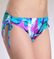 Maidenform Beach Tropical Forest  Hi Waist Swim Bottom 6211356
