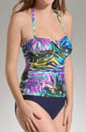 Maidenform Beach Desert Jewel Bandeau Control Swimsuit 6214016