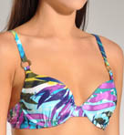 Maidenform Beach Desert Jewel Custom Lift Two Way Swim Top 6214392