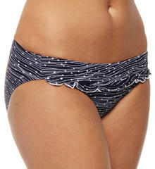No Strings Attached Ruffle Hipster Swim Bottom