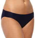 No Strings Attached Shirred Hipster Swim Bottom