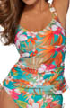 Maidenform Beach Spring Eternal Lift and Support Tankini Swim Top 6305339