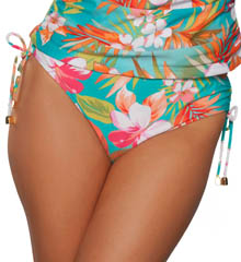 Maidenform Beach Spring Eternal Hi Waist Swim Bottom