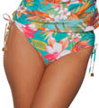 Maidenform Beach Spring Eternal Hi Waist Swim Bottom 6305356