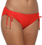 Summer Solids Shirr Hipster Swim Bottom