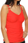 Summer Solids Lift Underwire Tankini Swim Top
