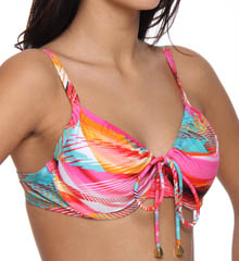 Maidenform Beach In a Flash Custom Lift Underwire Swim Top