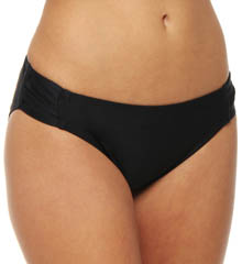 Black Tie Affair Shirred Hipster Swim Bottom