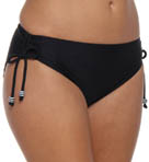 Maidenform Beach Black Tie Affair Hi Waist Swim Brief 6313356