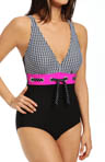 Optic Dot One Piece Swimsuit Image