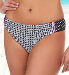 Optic Dot Hipster Swim Bottom Image
