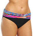 Color Spectrum Hi Waist Swim Bottom Image