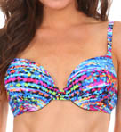 Maidenform Beach Color Spectrum Custom Lift Underwire Swim Top 6405392