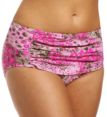 Maidenform Beach Wild Life Custom Lift Hi Waist Swim Bottom 6411378