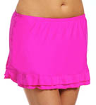 Solids Skirted Swim Bottom Image