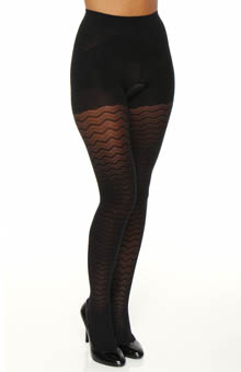 Maidenform Hosiery Skinny Tights Geometric Tight 13010