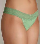One Size Fits All Thong Cotton with Lace