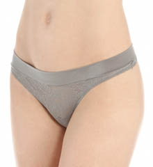 Maidenform - Maidenform 40161 Smooth Luxe Wide Waist Thong