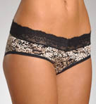 Micro with Lace Hipster Panty