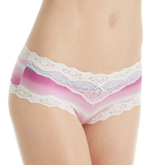 Maidenform - Maidenform 40823 Scalloped Lace Hipster Panty
