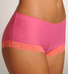 Heather Burst Boyshort Panty