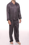 Striped Jacquard Pajama Set