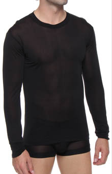 Long John Crew Neck Top