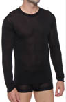 Mansilk Long John Crew Neck Top MJ3