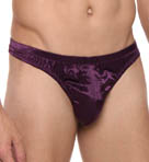 Mansilk Silk Satin/Knit Thong MS20
