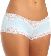 Cotton/Spandex Hip Hugger Boyshort Panties