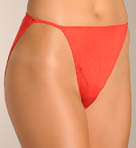 Mary Green Silk Knit String Bikini Panty L21