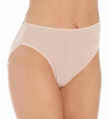 Mary Green Silk Knit Hi-Cut Full Brief Panty L37