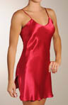Mary Green Solid Silk Chemise SB12