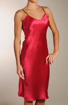Mary Green Solid Silk Full Slip Chemise SB13