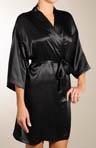 Solid Silk Kimono Robe