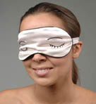 Embroidered Sleep Mask