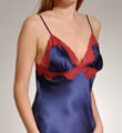 Mary Green Stretch Silk Satin Doll Chemise with Lace SD19