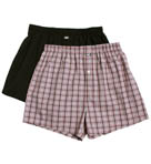 Michael Kors 2 Pack Woven Boxer 09M0237
