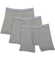 Soft Touch Cotton Modal Boxer Briefs - 3 Pack Image