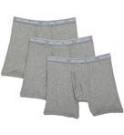 Soft Touch Cotton Modal Boxer Briefs - 3 Pack