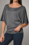 Shine Short Sleeve Off Shoulder Dolman Top