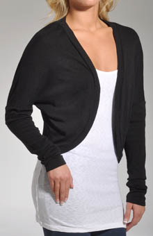 Shine Long Sleeve Cocoon Cardigan