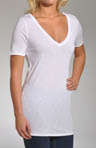 Michael Stars Luxe Slouch V Neck Tee 6444