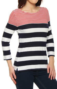 Michael Stars St Tropez Stripe T-Shirt 7076